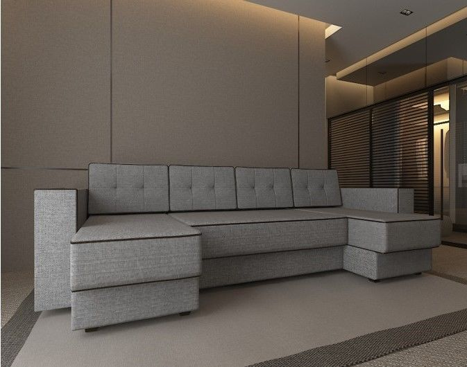 Диван Настоящая мебель Константин п-образный Орландо (модель 89) - фото 1