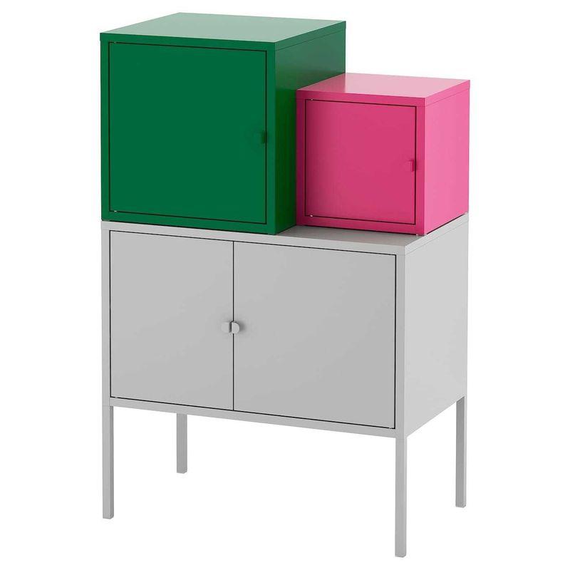 Шкаф металлический IKEA Ликсгульт 392.487.50 - фото 1
