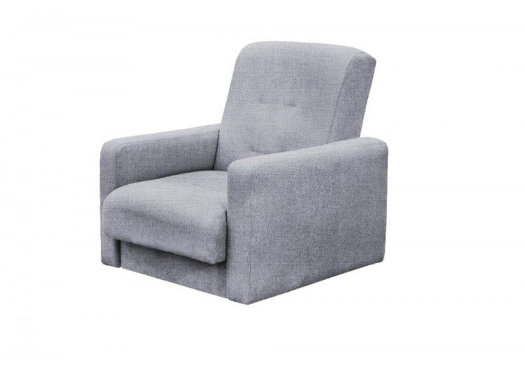 Кресло Луховицкая мебельная фабрика Лондон серая рогожка (140х190) - фото 2