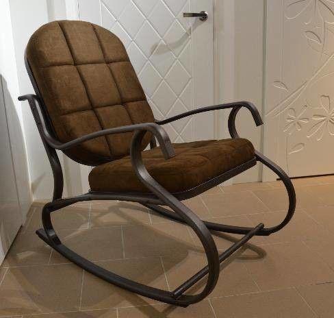 Кресло Calviano Relax steel 1 - фото 1