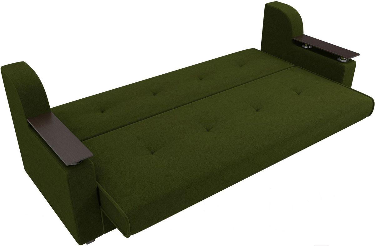 Диван Mebelico Сенатор 100615 микровельвет зеленый - фото 2