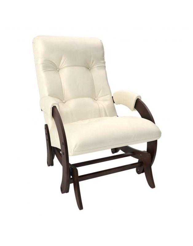Кресло Impex Кресло-гляйдер Модель 68 экокожа орех (dundi 112) - фото 1