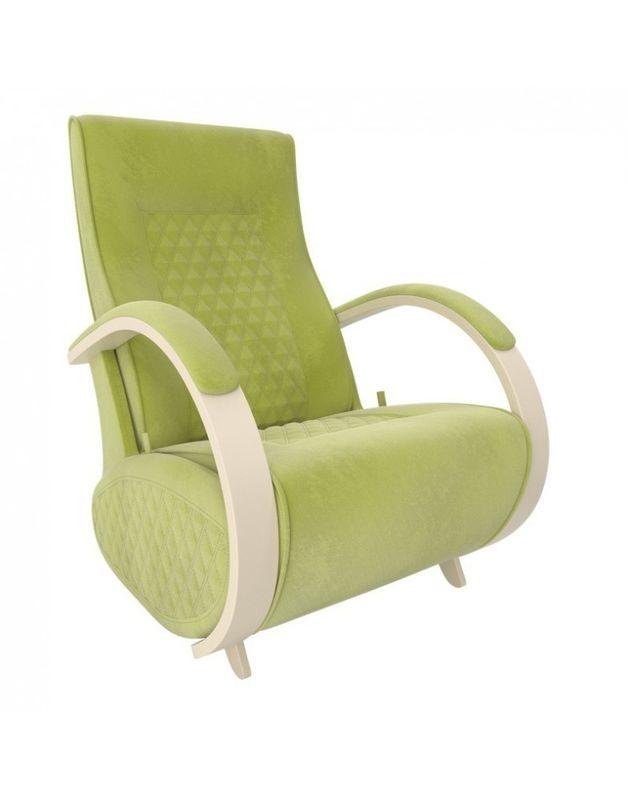 Кресло Impex Balance-3 Verona  сливочный (apple green) - фото 3