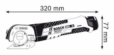 Ножницы по металлу Bosch GUS 10,8 V-LI Professional (0.601.9B2.904) - фото 2