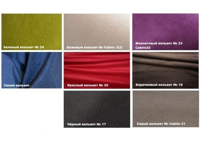 Диван Craftmebel Угловой Константин макси фиолетовый вельвет - фото 5