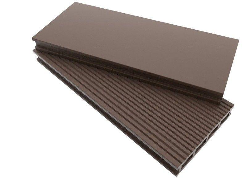 Декинг Dimdeck Профиль террасной доски с отделкой брашинг коричневый - фото 1