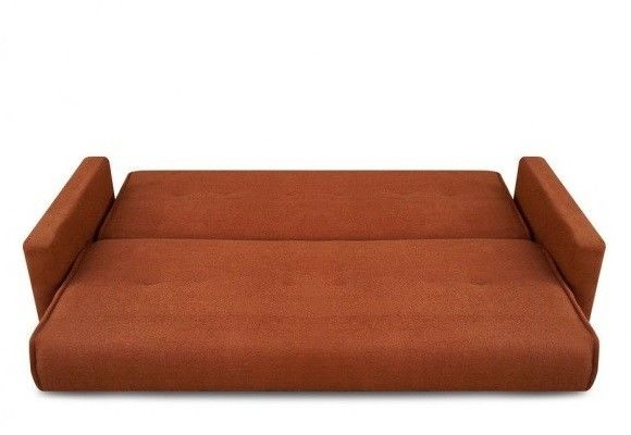 Диван Луховицкая мебельная фабрика Милан (Астра коричневый) 120x190 - фото 3
