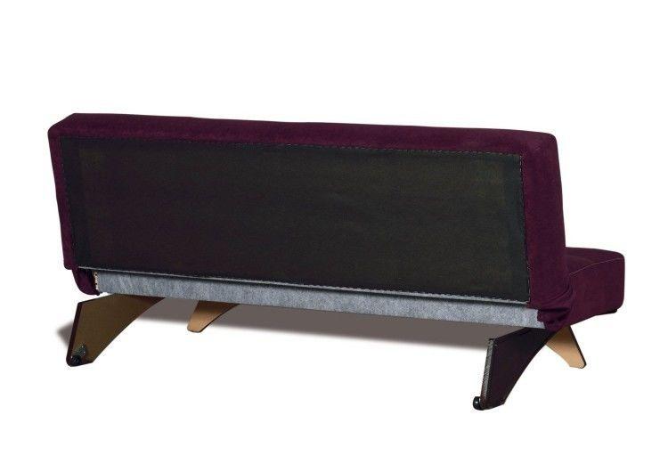 Диван Луховицкая мебельная фабрика Хаген фиолетовый - фото 4