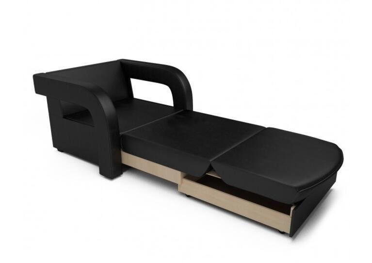 Кресло Craftmebel Кармен-2 (черный кожзам) - фото 2
