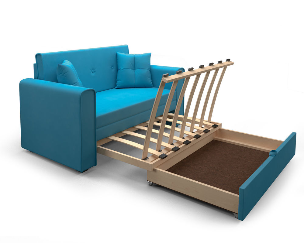 Диван Мебель-АРС Санта (синий) - фото 6