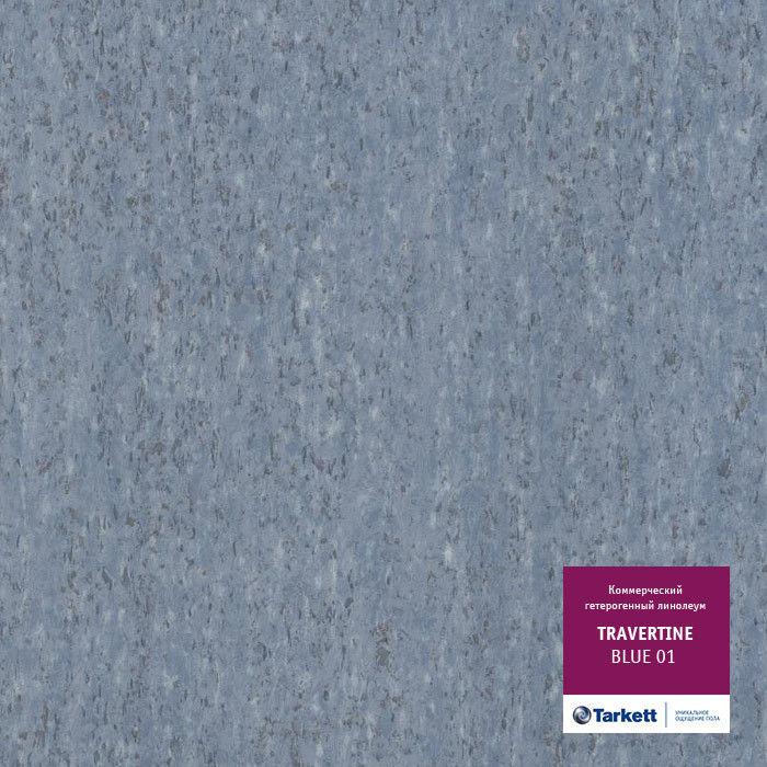 Линолеум Tarkett Travertine Blue 01 - фото 1