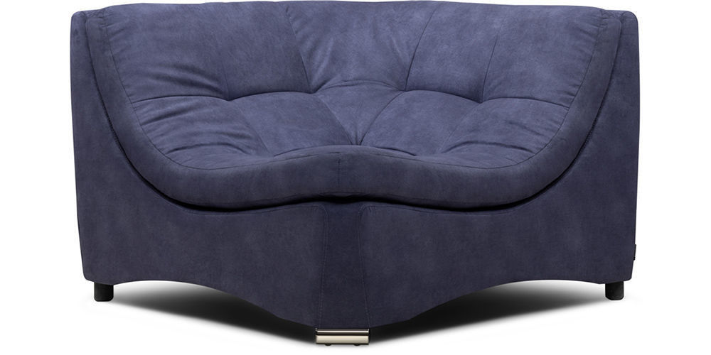 Диван Woodcraft Угловое кресло Монреаль Blue Granite - фото 1