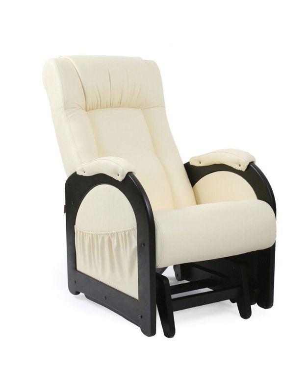 Кресло Impex Кресло-гляйдер Модель 48 б.л. экокожа (dundi 112) - фото 1