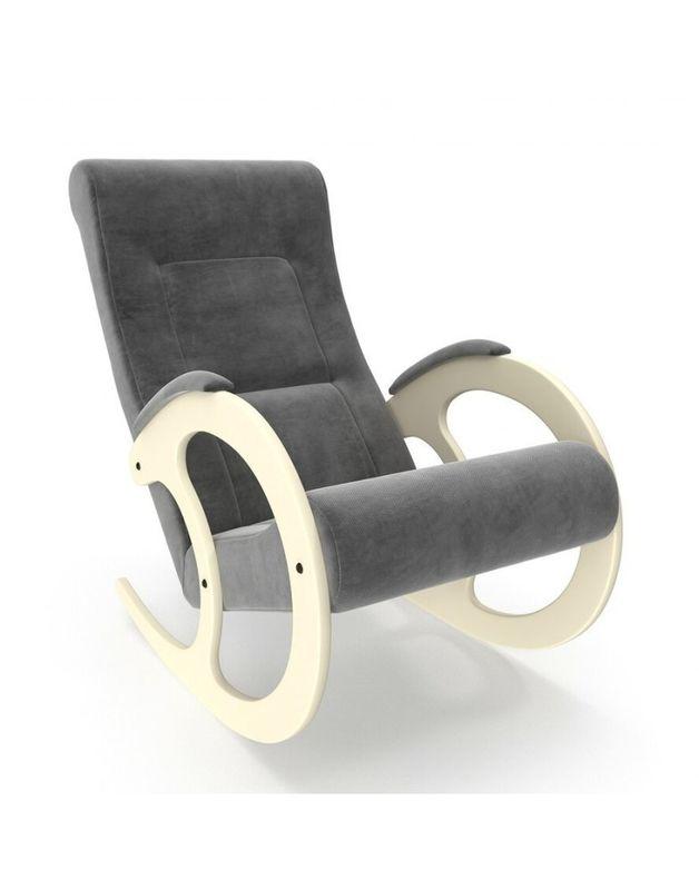 Кресло Impex Модель 3 Verona сливочный (Antrazite grey) - фото 1