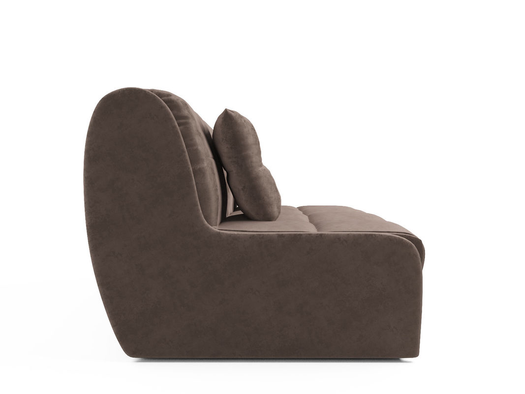 Диван Мебель-АРС Аккордеон Барон №2 (бархат серо-шоколадный  STAR VELVET 60 COFEE) - фото 3