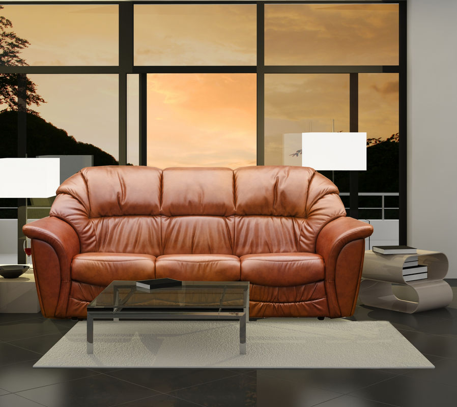 Диван Tiolly Оскар 3 (коричневый) - фото 1