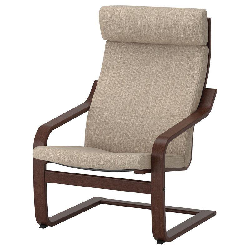 Кресло IKEA Поэнг 392.514.98 - фото 1