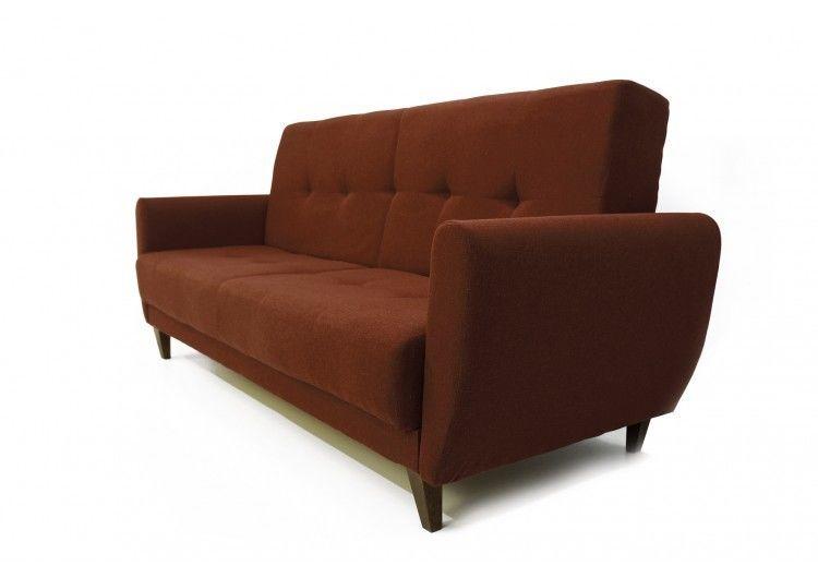 Диван Луховицкая мебельная фабрика Сканди коричневый - фото 2