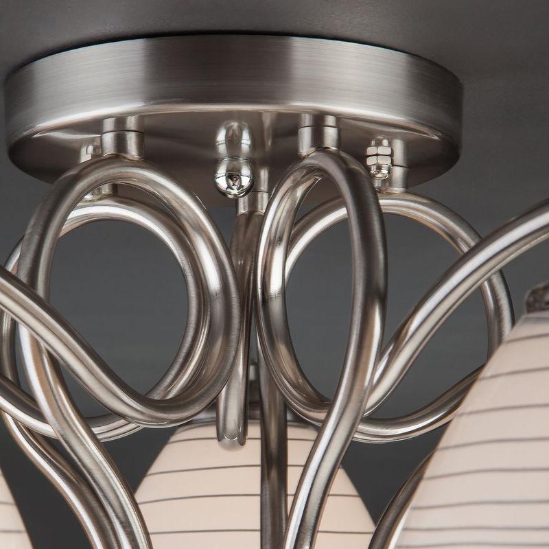 Светильник Евросвет Megan 30121/5 сатин-никель - фото 3