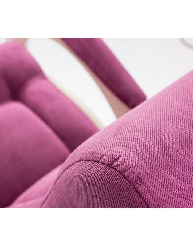 Кресло Impex Модель 44 б/л Verona сливочный (Antrazite grey) - фото 5