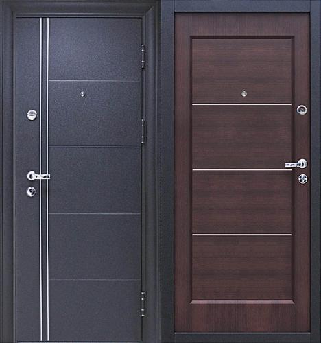 Входная дверь Йошкар Феррум (венге) - фото 1