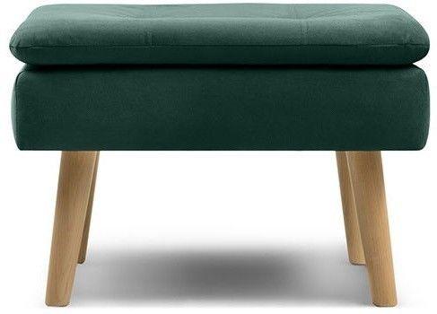 Пуфик Woodcraft Дублин Velvet Emerald пуф - фото 1
