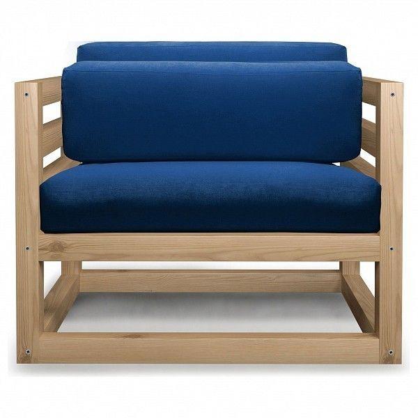 Кресло Anderson Магнус AND_125set477, синий - фото 1