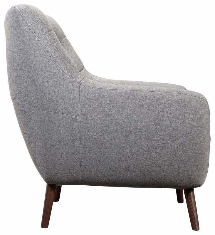 Кресло R-Home Сканди RST_4017222H_Gray, серый - фото 3