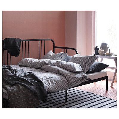 Диван IKEA Кушетка с 2 матрасами Фиресдаль черный [592.792.98] - фото 7