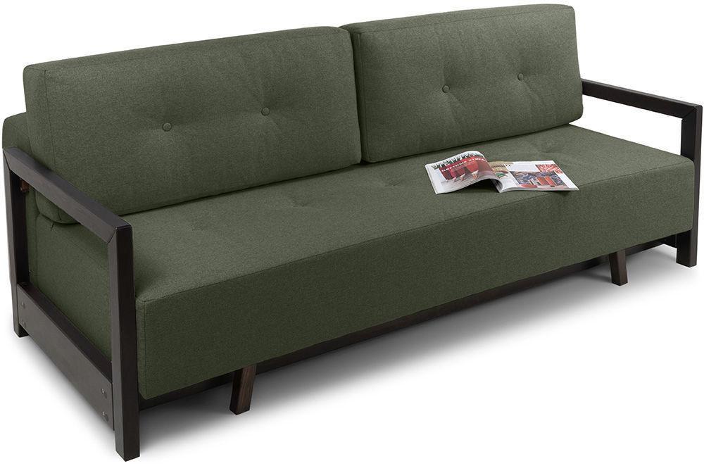Диван Woodcraft Осхен Textile Green - фото 2