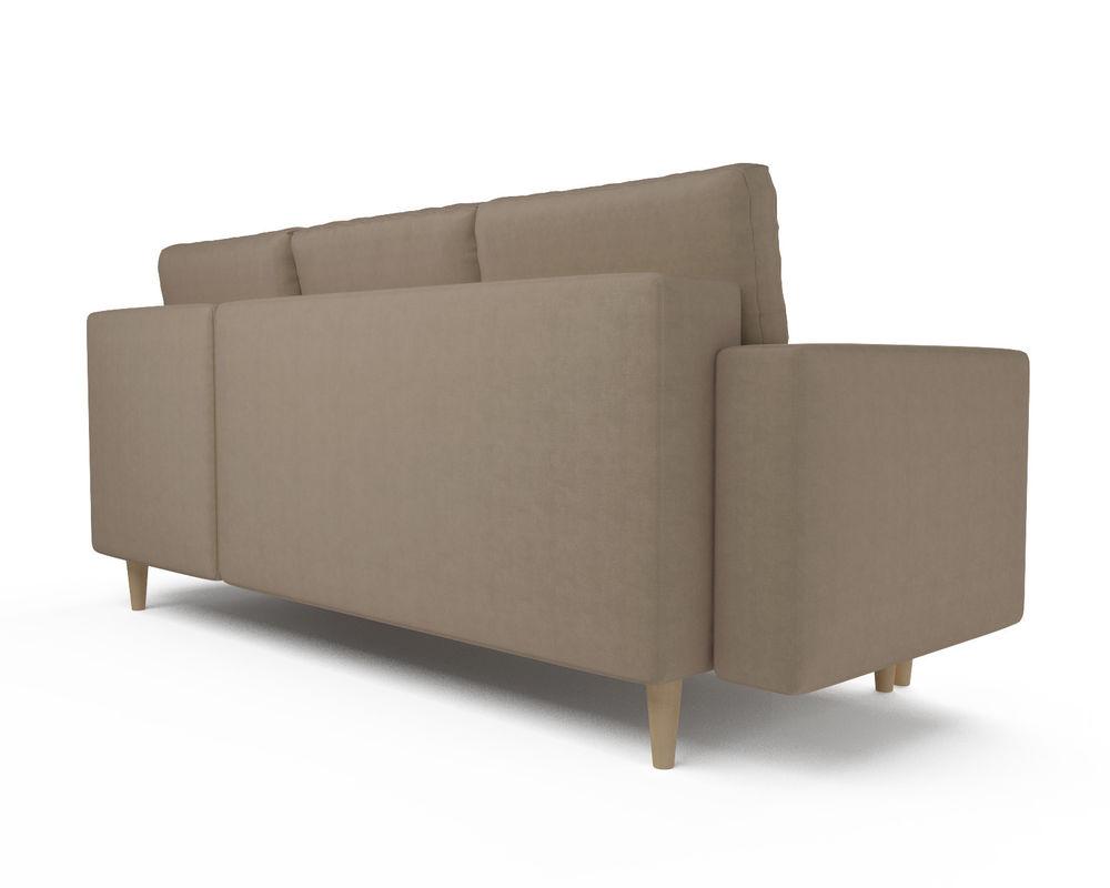 Диван Мебель-АРС Белфаст (рогожка бежевая) - фото 4