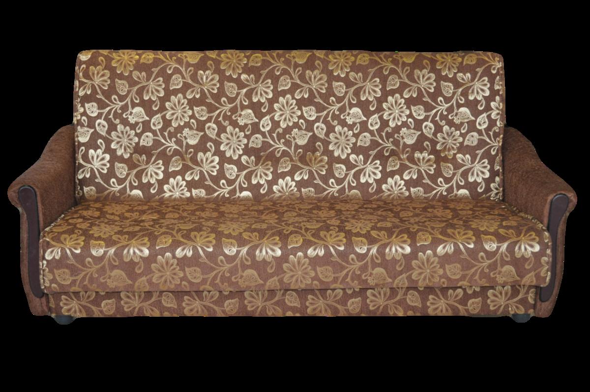 Диван ПромТрейдинг Уют 2 гобелен коричневый 140 ППУ - фото 1