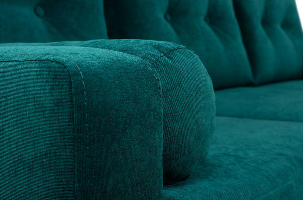Диван Woodcraft Динс Velvet Угловой Emerald - фото 10