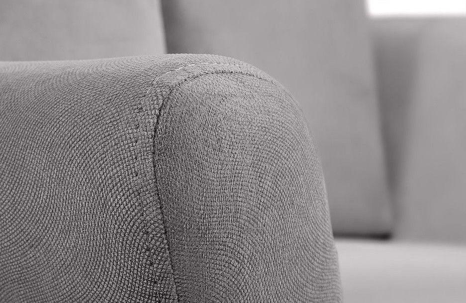 Диван Woodcraft Дублин Velvet Grey 2-местный - фото 5