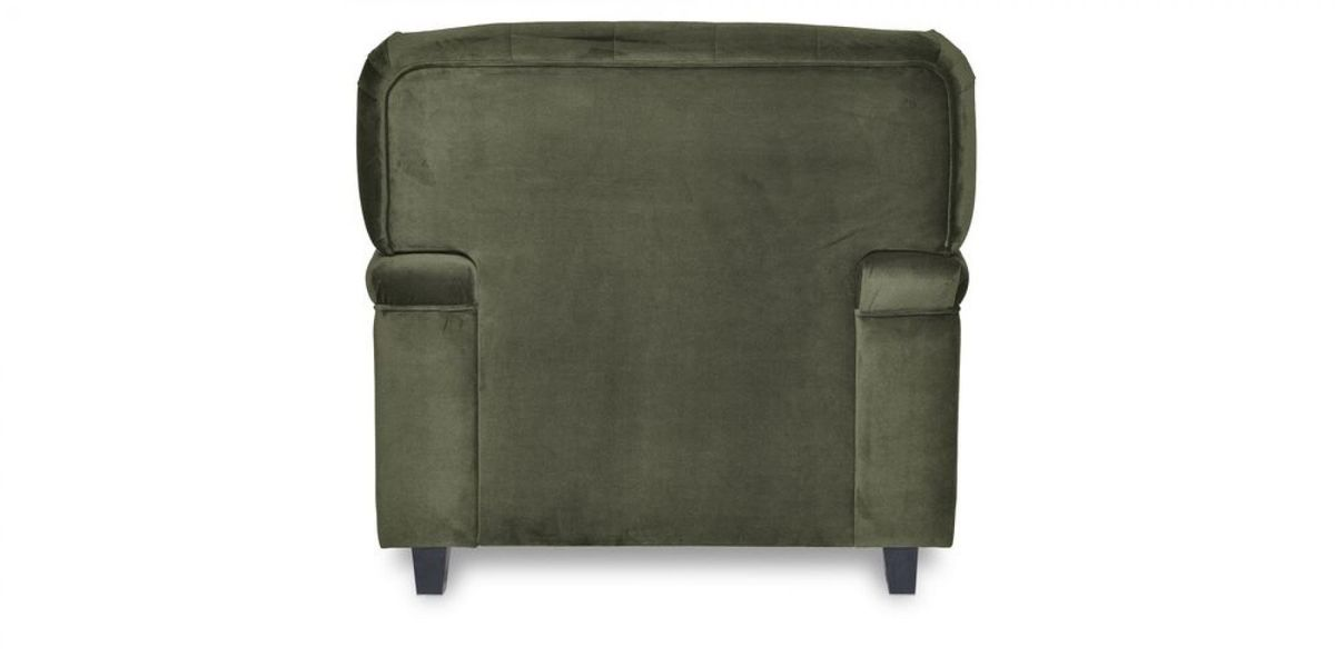 Кресло WOWIN Фулхаус (Кофейно-серый велюр) - фото 5