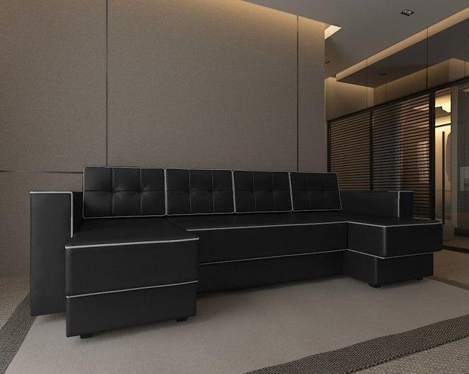 Диван Настоящая мебель Константин п-образный Орландо (модель 93) - фото 1