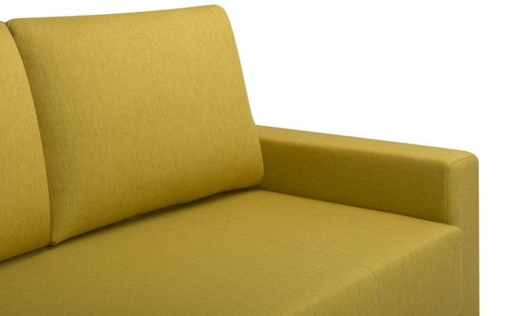 Диван Woodcraft Порту Textile Yellow - фото 8
