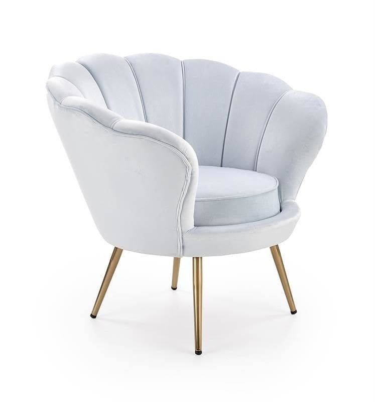 Кресло Halmar AMORINO (светло-синий) V-CH-AMORINO-FOT-J.NIEBIESKI - фото 1