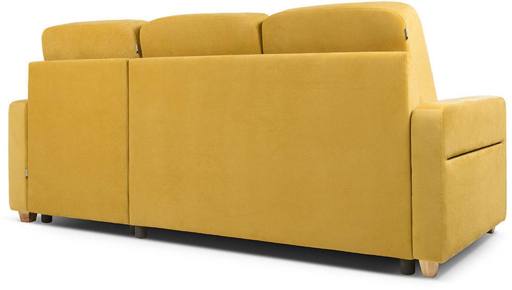 Диван Woodcraft Модульный Гувер-2 Velvet Yellow (уцененный) - фото 17