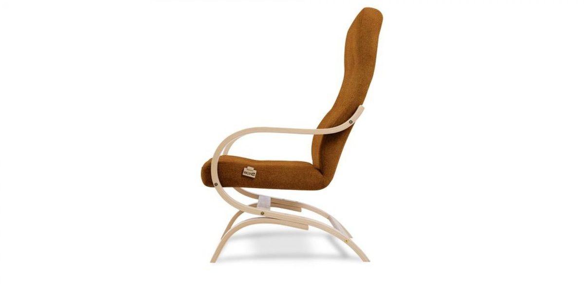 Кресло WOWIN Вейв (Медная эко-замша) - фото 3