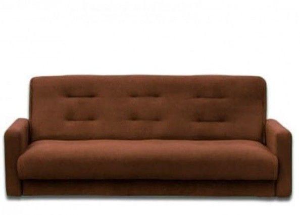 Диван Луховицкая мебельная фабрика Милан (Астра коричневый) 120x190 - фото 1