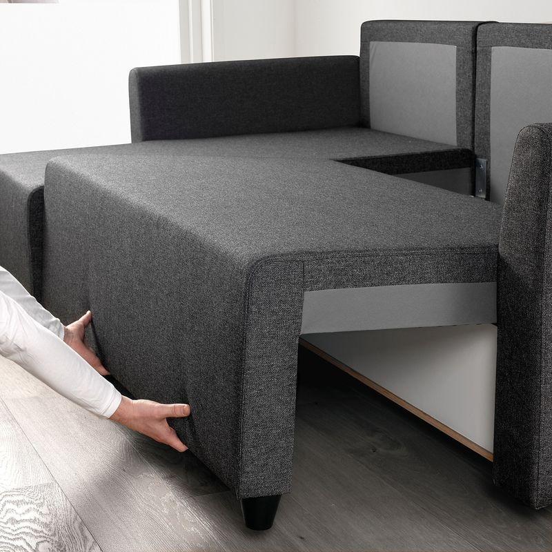 Диван IKEA Бриссунд темно-серый [804.481.81] - фото 4