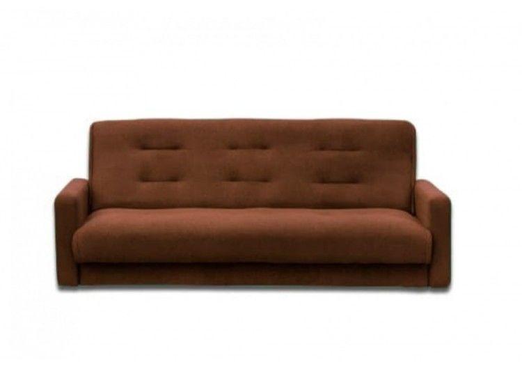 Диван Луховицкая мебельная фабрика Милан (Астра коричневый) 140x190 - фото 1