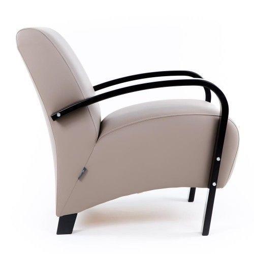 Кресло Greentree Балатон венге/экокожа Мускат - фото 3