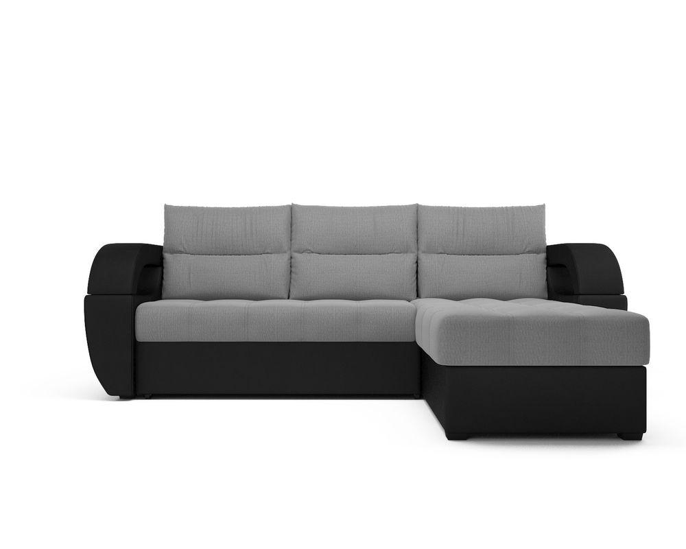 Диван Мебель-АРС Мартин (рогожка серая) - фото 2