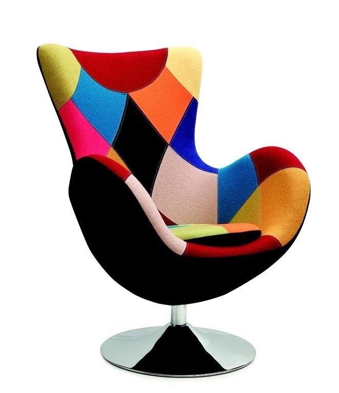 Кресло Halmar Butterfly (разноцветное) - фото 1