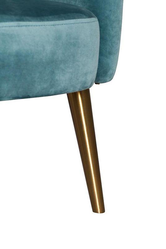 Кресло Garda Decor 48MY-2533 TUR GLD - фото 4