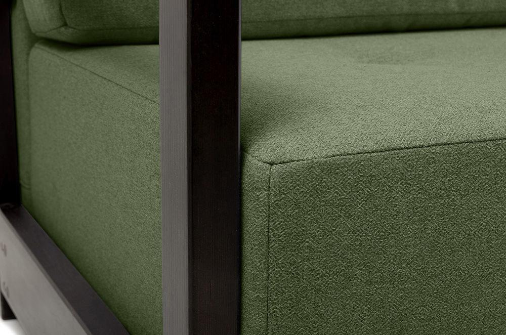 Диван Woodcraft Осхен Textile Green - фото 7