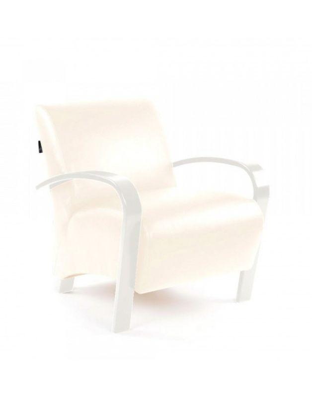 Кресло Impex Балатон белый - фото 2
