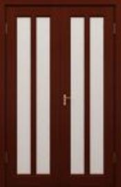 Межкомнатная дверь Ока Трояна (ДО, двустворчатая) - фото 1